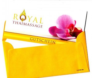 Massagegutschein Royal Thaimassage Dresden