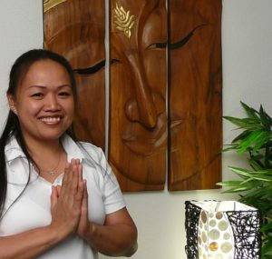 Royal Thai Massage Dresden Gutschein - Mali Lippmann, Leiterin der Royal Thai Massagepraxis